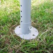 Marquee Pole Foot Plate 40mm